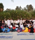 Outdoor Yoga at Al Mamzar Beach
