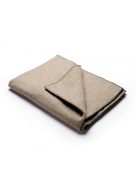 Natural Wool Yoga Blanket