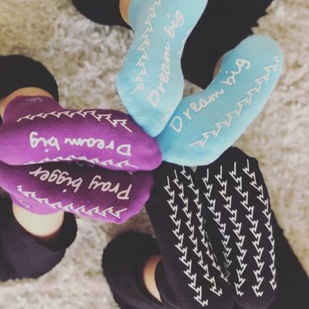 Dr Washi Grippy Socks - BLUE