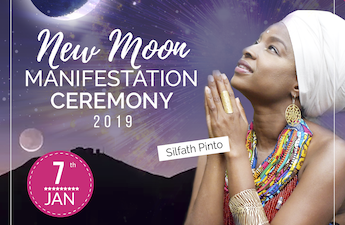 New Moon Manifeststion Ceremony: 2019