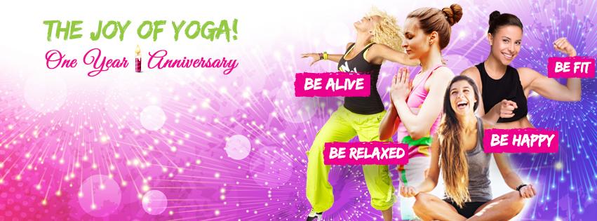 The Joy of Yoga! One Year Anniversary!