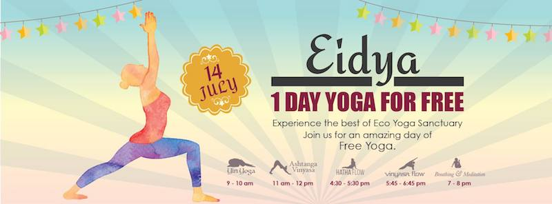 Eidya 1 Day Yoga for Free