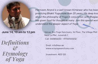 Definitions & Etymology of Yoga