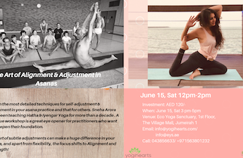 The Art of Alignment & Adjustment in Asana