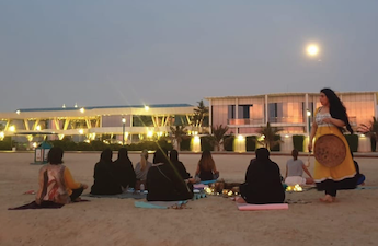 Full Moon Meditation in the Beach