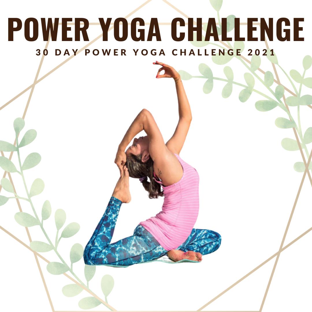 30 DAY POWER YOGA CHALLENGE