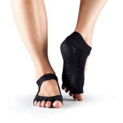 Bella Half Toe- Black