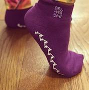 Dr Washi Grippy Socks - PURPLE