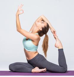Hatha Yoga in Arabic